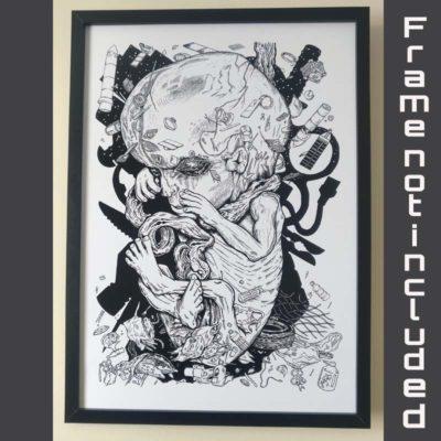 Cross the Rubicon - Joe Fur -Proton Art - Underground art and events