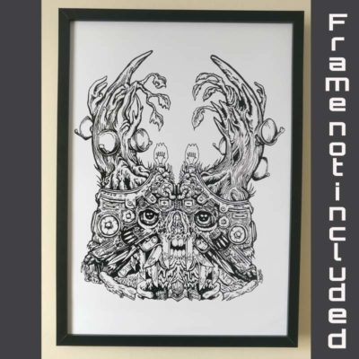 Discordiatee - Joe Fur - Proton Art - Underground art and events
